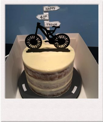 40th birthday bicycle enthusiast cake All Things Cake Epsom