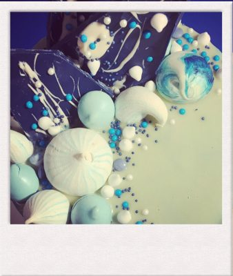 Celebration Cake sea theme decoration - All Things Cake - Cake Baker Epsom